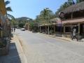 In den Straßen von Mazunte
